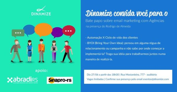 Dinamize convida para bate-papo sobre E-mail Marketing