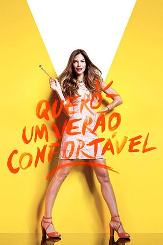 c1aacd338 A Matriz criou a campanha de verão 2016 da Usaflex, que busca ressaltar a  atitude e o conforto na hora de escolher o que calçar.