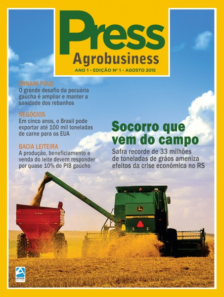 Press Agrobusiness circula durante a Expointer