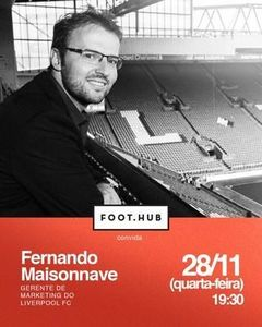 Gerente de Marketing do Liverpool palestra em Porto Alegre